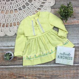 Vintage | 60s Dorissa Of Miami Embroidered Dress